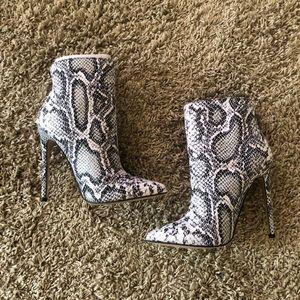 Snake Booties